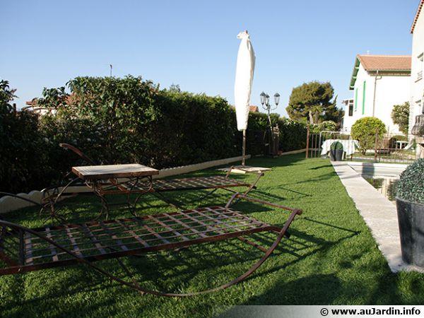 La pelouse synthétique