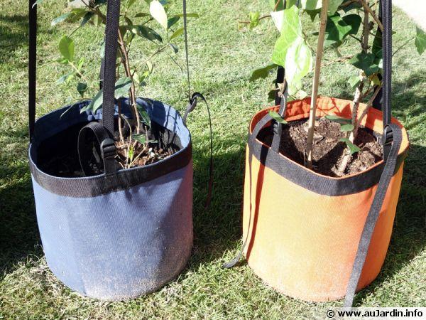Pots souples en textile technique