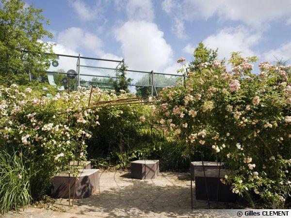 Jardin du quai Branly, la pergola