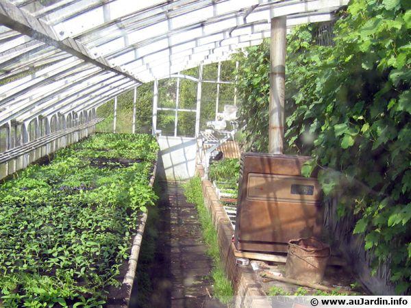 Le chauffage de la serre for Chauffage pour serre de jardin