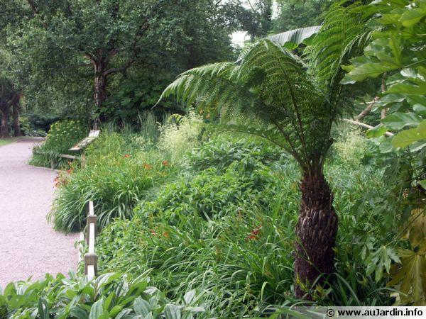Zonne tropicale du zoo de Champrepus