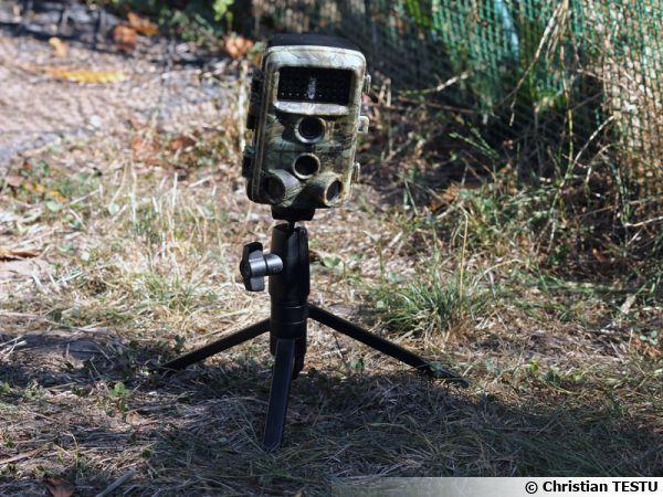 Camera de chasse Campark T45, discrète, efficace et peu onéreuse