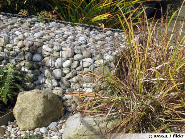 Le gabion de jardin for Ou acheter des galets blancs