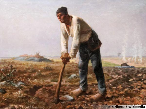 Jean-François Millet - L'Homme à la houe
