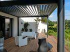 La pergola bioclimatique, pour une terrasse moderne