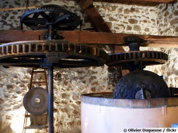 Ancien moulin à Huile d'olive du Partegal
