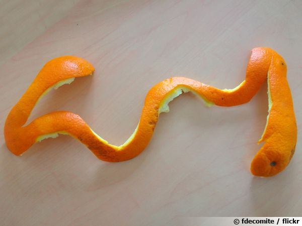 Que faire de sa pelure d'orange ?