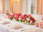 Poinsettia en décoration pour un mariage