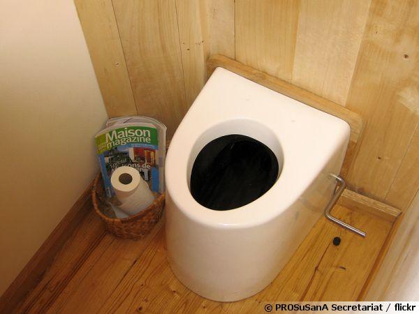 Des toilettes sèches