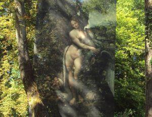 Peinture dans les arbres par CLAUDINE