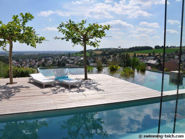 1ere place, Allemagne - La piscine sur le toit d'un garage