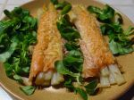 Asperges gratinées au saumon fumé