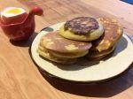 Blinis au potiron et œuf à la coque (sans gluten)