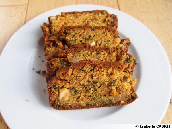 Cake olives amandes et curcuma