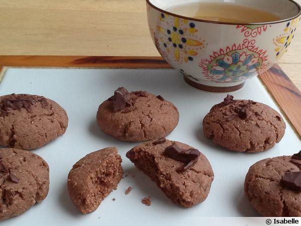cookies au chocolat sans gluten recette de cuisine. Black Bedroom Furniture Sets. Home Design Ideas
