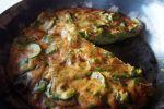 Gâteau courgette/amarante cuit à la poêle (sans gluten)