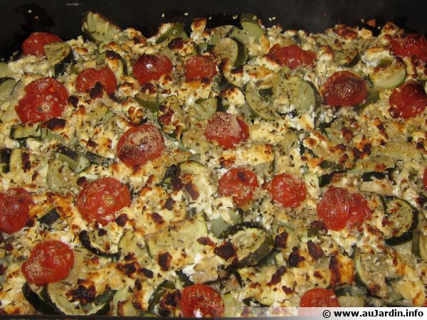 Gratin de légumes à la Feta