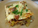 Lasagnes aux courgettes et boeuf hâché