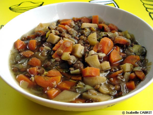 Mijot de pommes de terre nouvelles et lentilles - Recette comment cuisiner les lentilles ...