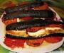 Millefeuille de courgettes et tomates au chèvre