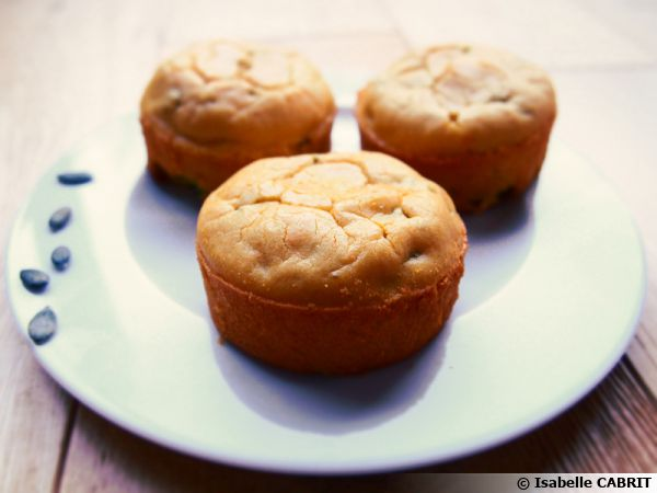 Muffins patate douce et petits pois