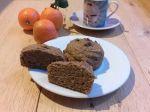 Muffins au potimarron et chicorée