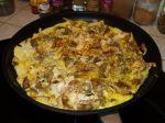 Omelettes aux pleurotes et aux deux graines