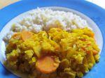 Panais et carottes aux lentilles corail