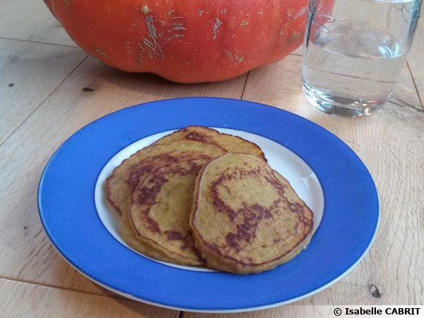 Pancakes sucrés à la courge