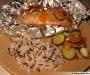 Papillotes de saumon aux petits légumes
