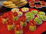 Petites verrines de fruits frais