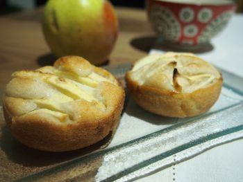 Petits gâteaux simplissimes aux pommes