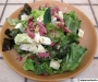Salade de ch�vre et lardons au s�same