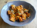 Salade fraîche de patates douces
