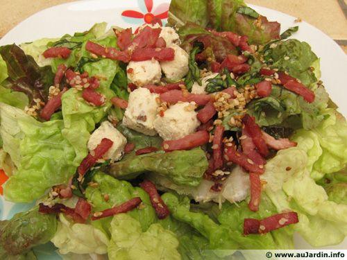 Salade de fromage frais