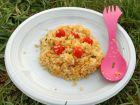 Salade de lentilles corail et quinoa