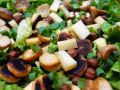 Salade Quenelle-Comté-Noisettes