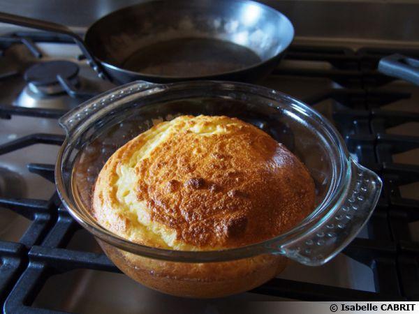 Soufflé de pommes de terre (avec les restes de purée)