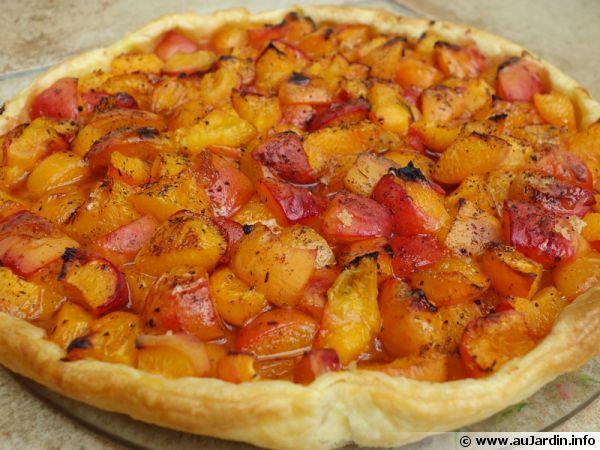 Tarte aux abricots & vergeoise