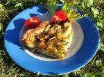 Tarte courgettes et faisselles (sans gluten)