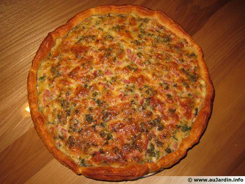 Tarte au Roquefort