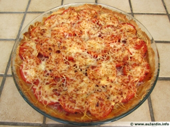 Tarte Tomate/Bacon