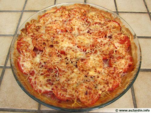 Tarte Tomate Bacon Recette De Cuisine
