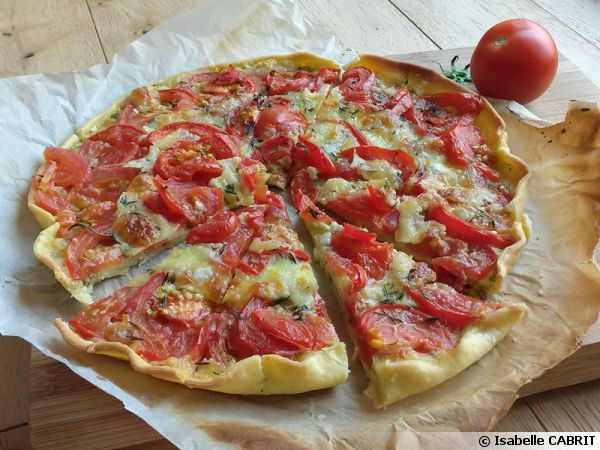 Tarte Tomate Mozzarella Recette De Cuisine