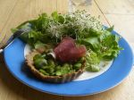 Tartelettes aux fèves (sans gluten)