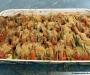 Tian de courgettes & tomates à la mozzarella