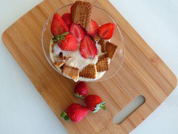 Tiramisu fraise-speculoos