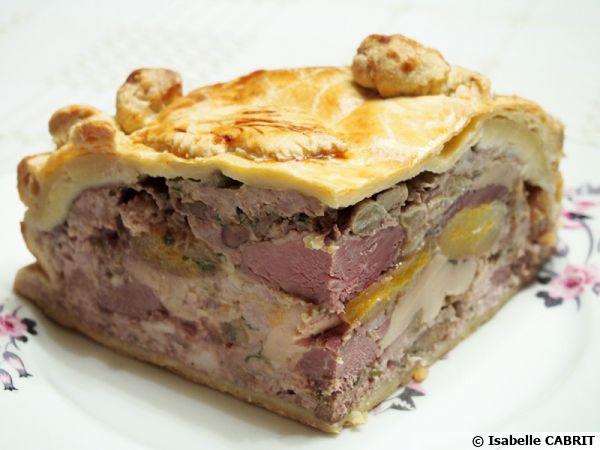 Tourte de Noël au foie gras et magret de canard*