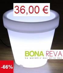 Pots lumineux tous petits prix chez bona reva for Pot lumineux exterieur solaire