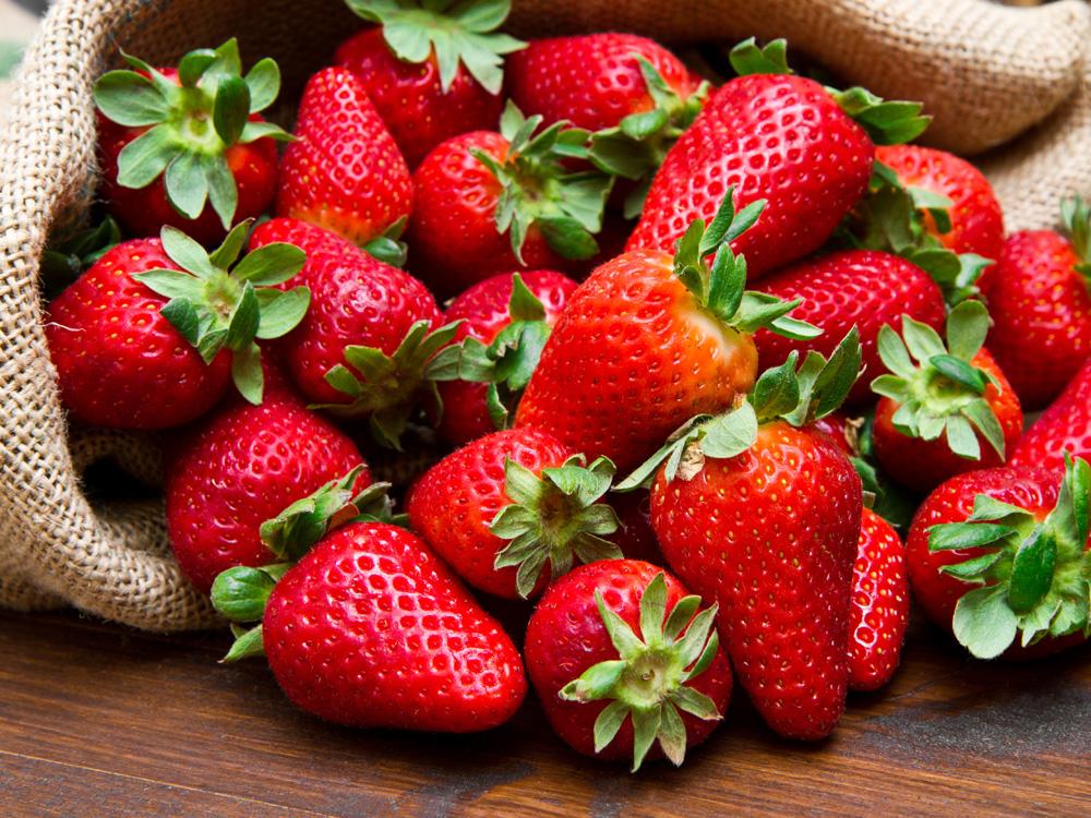 Strawberries, a tasty fruit, perfume